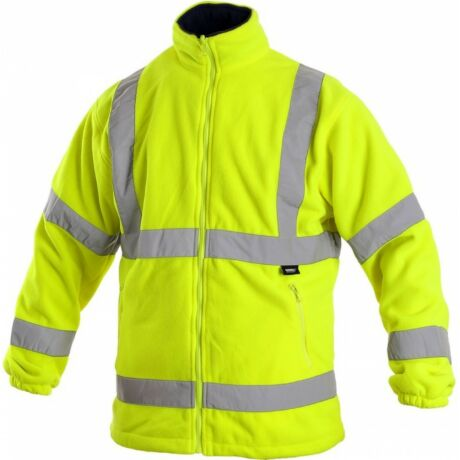 Preston fleece jól láthatósági kabát