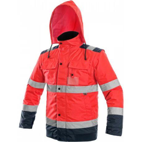 CXS Luton 2in1 bélelt jól láthatósági kabát