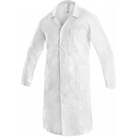 CXS Adam fehér hosszú kabát