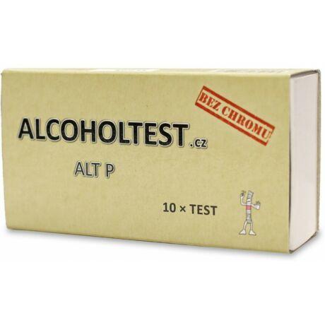 Alkoholteszt egyszer használatos 10 db/csomag