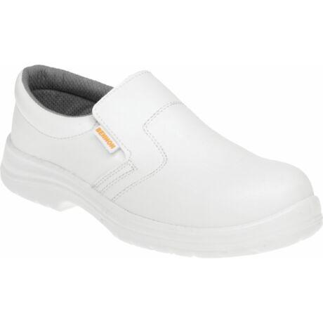 Bennon White S2 Moccasin