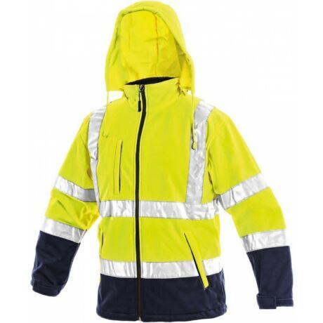 CXS Derby softshell jól láthatósági kabát