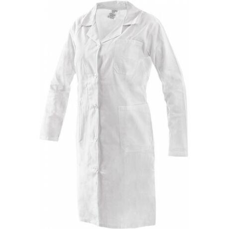 CXS Eva női fehér hosszú kabát