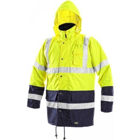 CXS Oxford bélelt jól láthatósági kabát