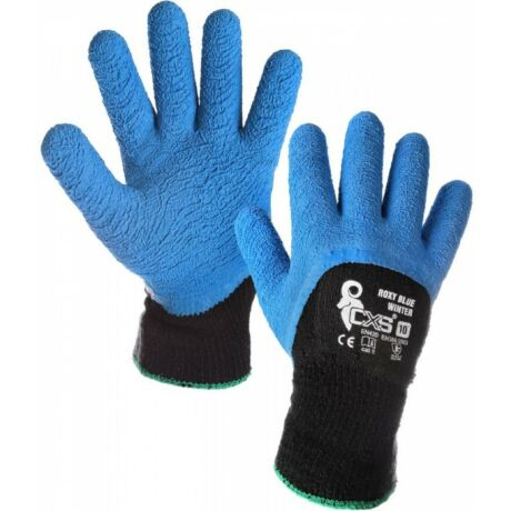 CXS Roxy Blue Winter latexbe mártott bélelt kesztyű